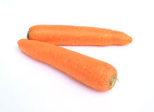 Carrot tubers Royalty Free Stock Photo