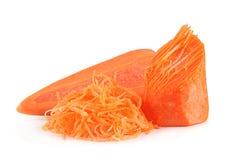 Carrot vegetable hardened Stock Photography