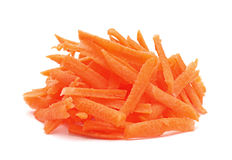 Carrot vegetable hardened Royalty Free Stock Photos