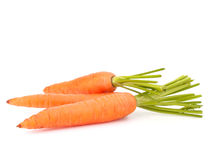 Carrot vegetable with leaves Royalty Free Stock Photography