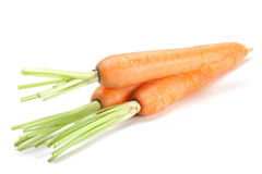 Carrot vegetable on white Royalty Free Stock Image