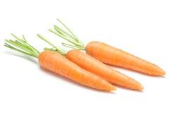 Carrot vegetable on white Royalty Free Stock Photos