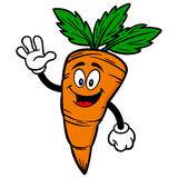 Carrot Waving Royalty Free Stock Images