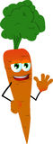 Carrot waving Royalty Free Stock Photography