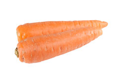 Carrot on the white background. Carrot on a white background Royalty Free Stock Image