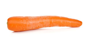Carrot on white background Royalty Free Stock Image