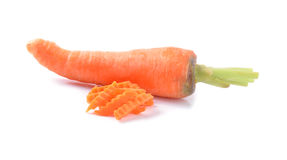 Carrot  on White Background Stock Image