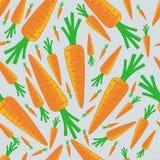 Carrote pattern1 Στοκ Εικόνα