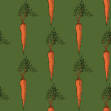 CarrotPattern2 Stock Photo