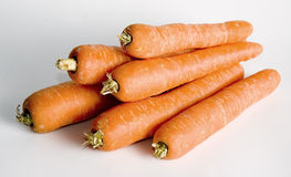 Carrots. An arrangement of carrots Stock Images