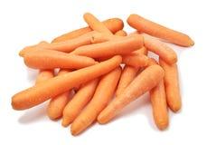 Carrots. Isolated on white background stock image