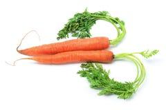 Carrots Arranged in Heart Shape Royalty Free Stock Image