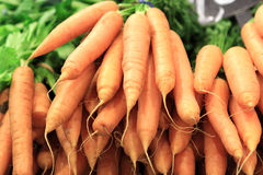 Carrots At Market Stock Images