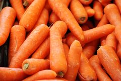 Carrots background Stock Photos