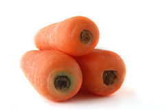 Carrots on the background clouseup Stock Image