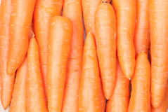 Carrots background. Fresh carrots background. Top view Royalty Free Stock Photography
