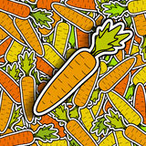 Carrots background Stock Images