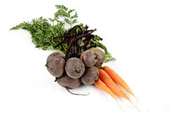 Carrots and Beetroot Stock Photo
