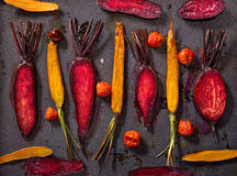 Carrots and beets Royalty Free Stock Photo