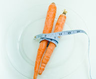 Carrots can help you lose weight and inches Stock Photo