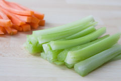 Carrots and Celery Royalty Free Stock Photography