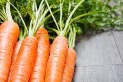 Carrots closeup Royalty Free Stock Photo