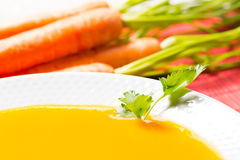 Carrots cream Royalty Free Stock Photography