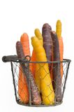 Carrots of different colors Royalty Free Stock Photos