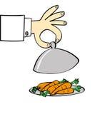 Carrots for Dinner Stock Images