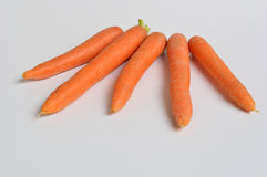 Carrots in the foreground Royalty Free Stock Photography