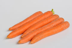 Carrots in the foreground Stock Photography