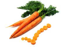 Carrots are good for you Royalty Free Stock Photo