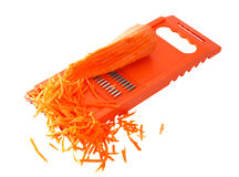Carrots and grater Royalty Free Stock Image