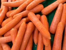 Carrots for health. Is orange color Stock Image