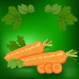 Carrots. Healthy Royalty Free Stock Images