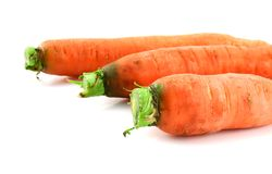 Carrots isolated Royalty Free Stock Image
