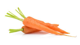 Carrots isolated on  white background Royalty Free Stock Image
