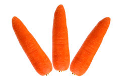 Carrots isolated on white background. Fresh carrots isolated on white background Stock Photo