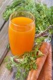 Carrots juice Stock Photos