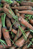 Carrots on the market Stock Photos