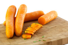 Carrots and parsley Royalty Free Stock Photography