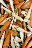 Carrots and Parsnips Royalty Free Stock Photography