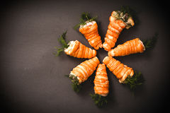 Carrots pastry Royalty Free Stock Photos