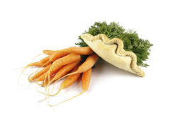 Carrots and Pasty Royalty Free Stock Photo