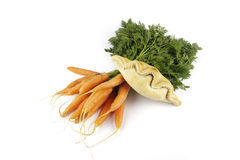 Carrots and Pasty Stock Photo