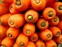 Carrots on a pile Stock Photo