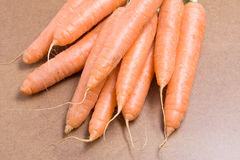 Carrots piled Royalty Free Stock Photography