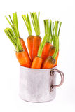 Carrots in a pot Stock Photo