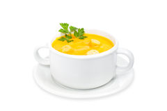 Carrots puree Stock Images