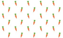 Carrots seamless background Stock Photo